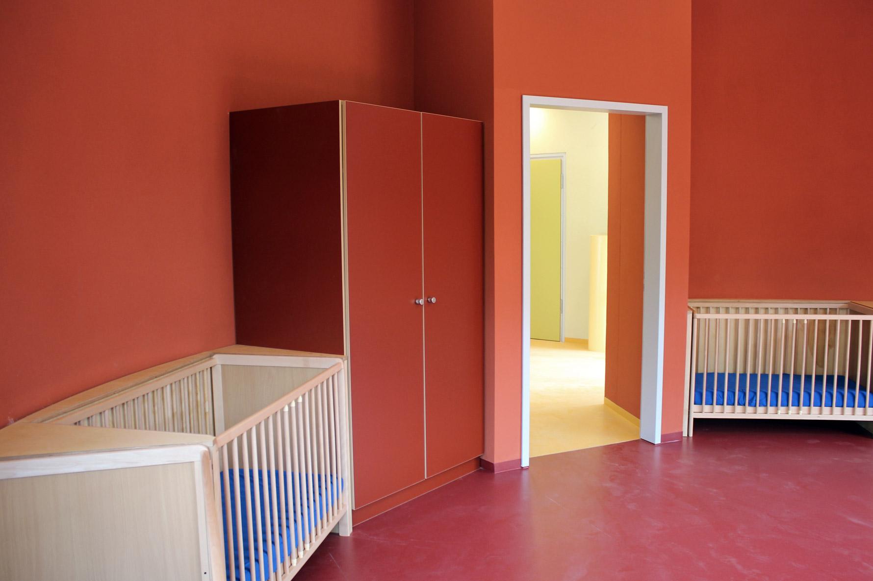 Foto Schlaf- und Aufenthaltsraum Möblierung für Kindertagesstätte in Zwickau