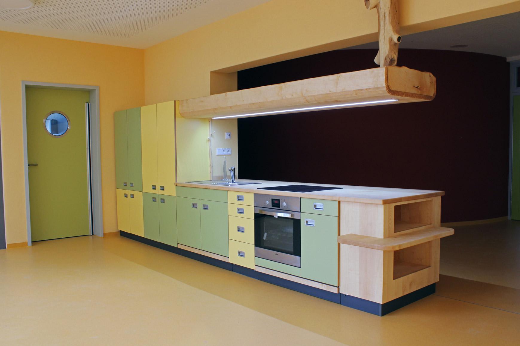 Foto Kücheneinrichtung für Kindertagesstätte in Zwickau