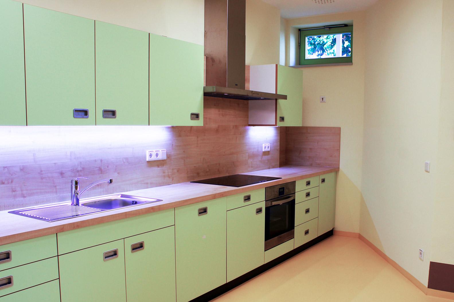Einbauküche vom Tischlermeister für Kita