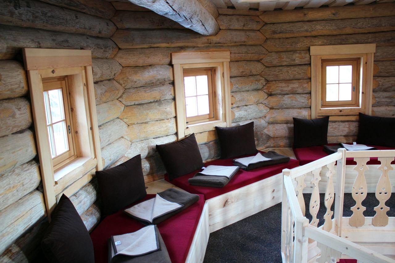 Eventsaunabau für Eibenstock Badegärten - exklusive Tischlerarbeiten
