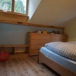 Schlafzimmereinrichtung komplett - Kommoden, Doppelbett, Interieur - Tischlerarbeit Holzwerkstatt Trommer